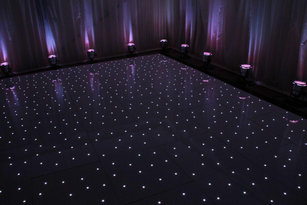 Mood Lighting and Starlit Dancefloor - Purple